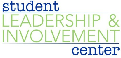student leadership and involvement center logo